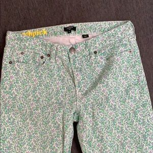 "J.crew pants ""toothpick w/ stretch size 29"